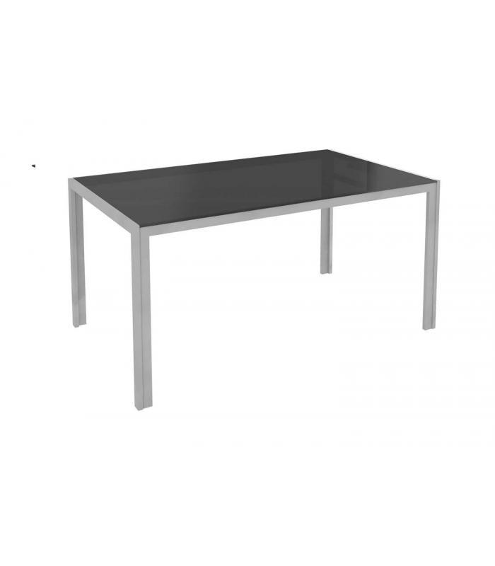 Mesas de comedor liquidatodo mesa de comedor moderna y for Mesa comedor negra